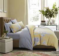 Delicate Fragrance Yellow Bedding Set Teen Bedding Dorm Bedding Bedding Collection Gift Idea