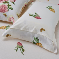 Love Flower Beige Bedding Set Teen Bedding Dorm Bedding Bedding Collection Gift Idea