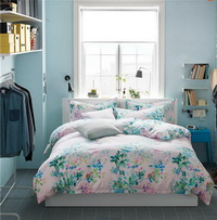 Lico Green Bedding Set Luxury Bedding Scandinavian Design Duvet Cover Pillow Sham Flat Sheet Gift Idea