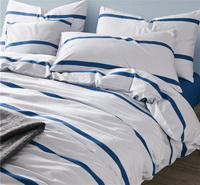 Turuika White Bedding Set Luxury Bedding Scandinavian Design Duvet Cover Pillow Sham Flat Sheet Gift Idea