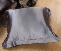 Silver Gray Silk Bedding Set Duvet Cover Silk Pillowcase Silk Sheet Luxury Bedding