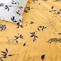 Caitlin Yellow Bedding Set Luxury Bedding Girls Bedding Duvet Cover Set