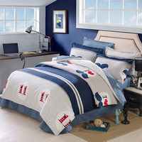 11 Love Blue Bedding Set Kids Bedding Teen Bedding Duvet Cover Set Gift Idea