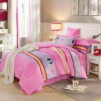 British Universities Pink Bedding Set Kids Bedding Teen Bedding Duvet Cover Set Gift Idea