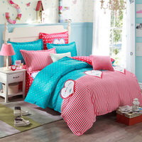 Love Diary Pink Bedding Set Kids Bedding Teen Bedding Duvet Cover Set Gift Idea