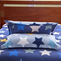 Sky And Stars Blue Bedding Set Kids Bedding Teen Bedding Duvet Cover Set Gift Idea