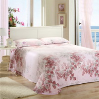 Flowers On The Branches Pink Bedding Set Girls Bedding Floral Bedding Duvet Cover Pillow Sham Flat Sheet Gift Idea