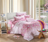 Next Stop Happiness Pink Bedding Set Girls Bedding Floral Bedding Duvet Cover Pillow Sham Flat Sheet Gift Idea
