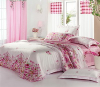 Next Stop Pink Bedding Set Luxury Bedding Girls Bedding Duvet Cover Pillow Sham Flat Sheet Gift Idea