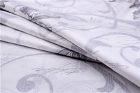 Blanche White Bedding Set Luxury Bedding Collection Satin Egyptian Cotton Duvet Cover Set