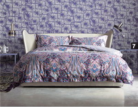 Thalia Purple Bedding Set Luxury Bedding Collection Pima Cotton Bedding American Egyptian Cotton Bedding
