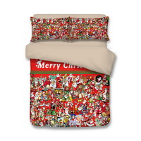 Christmas Its Me Red Bedding Duvet Cover Set Duvet Cover Pillow Sham Kids Bedding Gift Idea