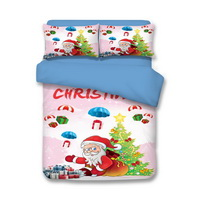 Christmas My Gift Pink Bedding Duvet Cover Set Duvet Cover Pillow Sham Kids Bedding Gift Idea