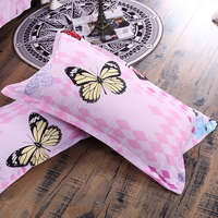 Butterflies Pink Bedding Set Duvet Cover Pillow Sham Flat Sheet Teen Kids Boys Girls Bedding