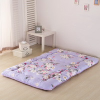 Flowers Purple Futon Tatami Mat Japanese Futon Mattress Cheap Futons For Sale Christmas Gift Idea Present For Kids