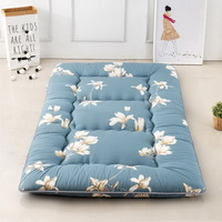 Magnolia Flower Blue Futon Tatami Mat Japanese Futon Mattress Cheap Futons For Sale Christmas Gift Idea Present For Kids