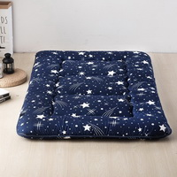 Meteor Shower Blue Futon Tatami Mat Japanese Futon Mattress Cheap Futons For Sale Christmas Gift Idea Present For Kids
