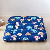 Mushrooms Blue Futon Tatami Mat Japanese Futon Mattress Cheap Futons For Sale Christmas Gift Idea Present For Kids