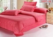 Brick Red Hotel Collection Bedding Sets