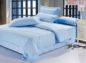 Sky Blue Hotel Collection Bedding Sets