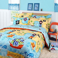 Pirates Of The Caribbean Kids Bedding Sets For Boys