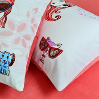 Modern Girl Pink Duvet Cover Set Girls Bedding Kids Bedding