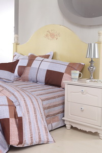 Roman Style Coffee Cheap Kids Bedding Sets
