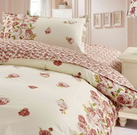 Rose Red 3 Pieces Girls Bedding Sets