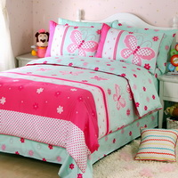 Butterfly Fairy Tale Kids Bedding Sets For Girls