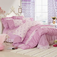 Beauty Pink Girls Bedding Sets