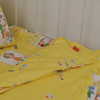 Boys And Girls Yellow Girls Princess Bedding Sets