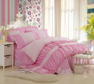 Sakura Pink Girls Bedding Sets