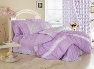 Spring Purple Girls Bedding Sets