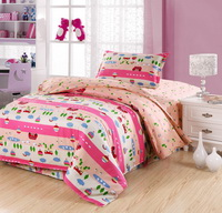 Naughty Baby 3 Pieces Girls Bedding Sets