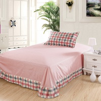 Sophie Check Pink 3 Pieces Girls Bedding Sets