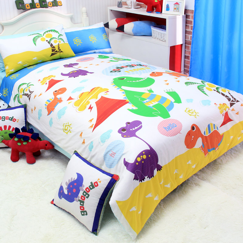 pics photos kids dinosaur park white dinosaur bedding set http www