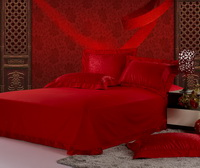 Chinese Red Luxury Bedding Sets