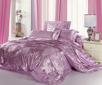 Purple Flowers Luxury Bedding Sets