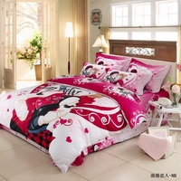 Romantic Lover Duvet Cover Sets Luxury Bedding