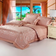 Sunset Glow Shallow Jade 4 PCs Luxury Bedding Sets