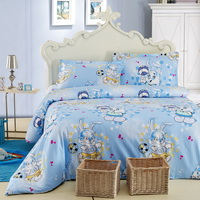 Playmates Blue Modern Bedding Sets