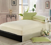 Fruit Green And Beige Modern Bedding Sets