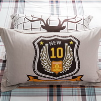 Bucks 100% Cotton Pillowcase, Include 2 Standard Pillowcases, Envelope Closure, Kids Favorite Pillowcase