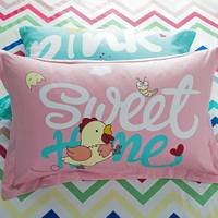 Chick 100% Cotton Pillowcase, Include 2 Standard Pillowcases, Envelope Closure, Kids Favorite Pillowcase