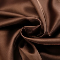 Brown Silk Pillowcase, Include 2 Standard Pillowcases, Envelope Closure, Prevent Side Sleeping Wrinkles, Have Good Dreams