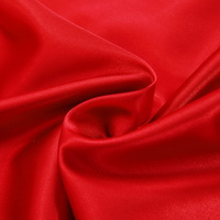 Red Silk Pillowcase, Include 2 Standard Pillowcases, Envelope Closure, Prevent Side Sleeping Wrinkles, Have Good Dreams