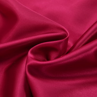 Wine Red Silk Pillowcase, Include 2 Standard Pillowcases, Envelope Closure, Prevent Side Sleeping Wrinkles, Have Good Dreams
