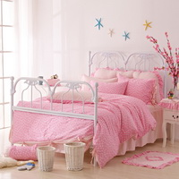 Valentines Day Pink Polka Dot Bedding Princess Bedding Girls Bedding