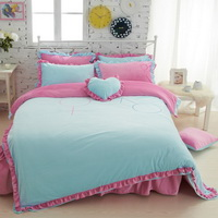 Boys And Girls Blue Velvet Bedding Girls Bedding Princess Bedding