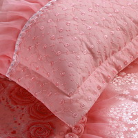 Amazing Gift Closer Hearts Pink Bedding Set Princess Bedding Girls Bedding Wedding Bedding Luxury Bedding